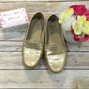 🕊Old Navy - Gold Loafers 🕊